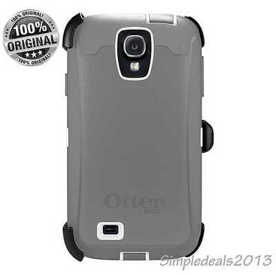 New Otterbox Defender Series case & Holster clip for Samsung Galaxy S4 - Grey