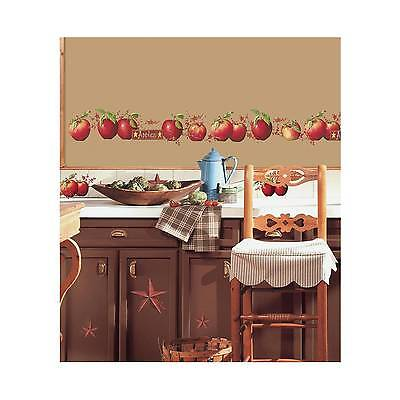 RoomMates Country Apples Peel & Stick Wall Decals