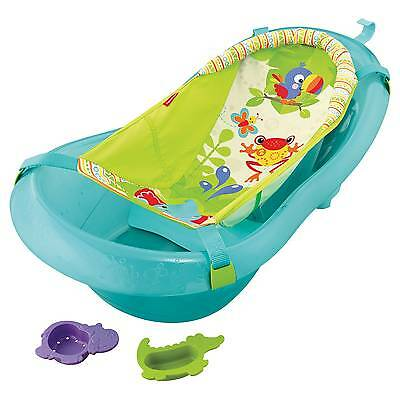 Fisher-Price Baby Bath Tub Ocean Blue