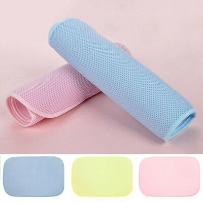 Newly Infant Changing Pad Baby Waterproof Urine Mat Reusable Bamboo Fiber Cover