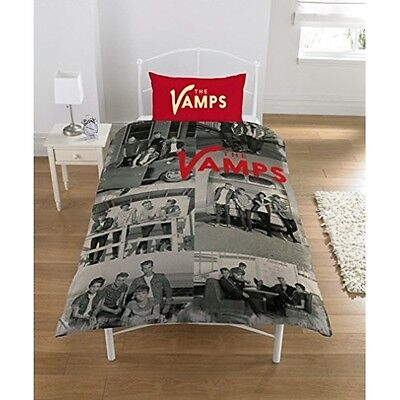 The Vamps Panel Single Bed Duvet Quilt Cover Bedroom Bedding Set Brand New Gift
