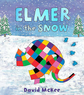 Elmer in the Snow by David McKee - New Picture Book