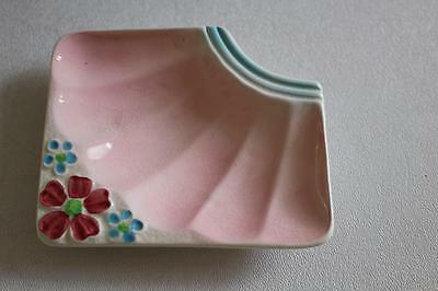 Melba Ware Pink Floral pipe Rest