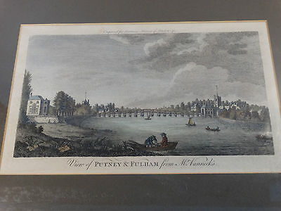 gravure anglaise ancienne   1770 history london ............(a9)