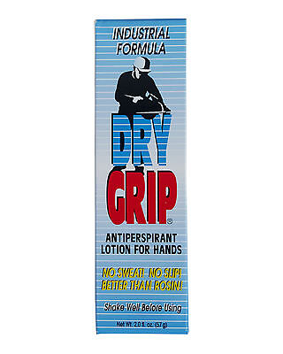 DRY GRIP Grip Aid Antiperspirant Hand Lotion For Sporting & Leisure Activities