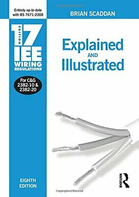 17th Edition IEE Wiring Regulations: Explained & ... by Scaddan, Brian Paperback