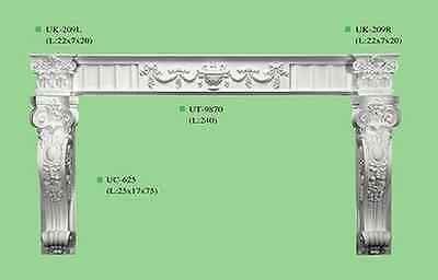 Border Ceiling Entrance Doorway arch Victorian Corbel outline room door decor