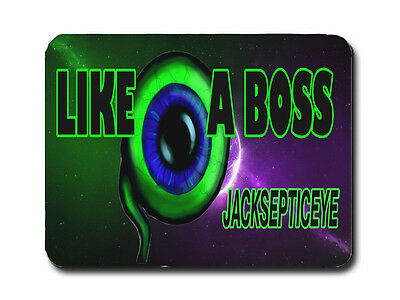 Jacksepticeye Mousemat / Pad Pc Computer ( Galaxy ) Gamers Youtube