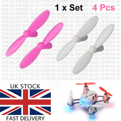 Hubsan Nano Q4 H111 Propellers Blades - Spare Parts Quadcopter Drone UK seller