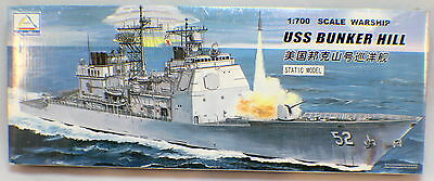U.S.S. Bunker Hill Warship Scale 1:700 Hobby Models unopened