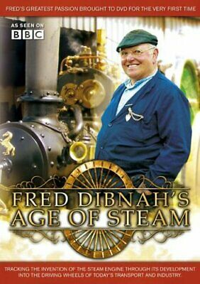 Fred Dibnah - Fred Dibnah - Age Of Steam [DVD] - DVD  6QVG The Cheap Fast Free