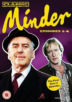 Classic Minder Episodes 1-4 [DVD] - DVD  CUVG The Cheap Fast Free Post