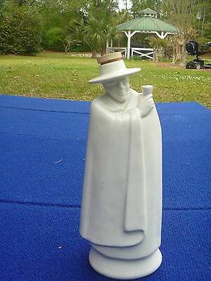 Vintage 1971 Wedgwood of Etruria England Moonstone Sandeman Man Scotch Decanter