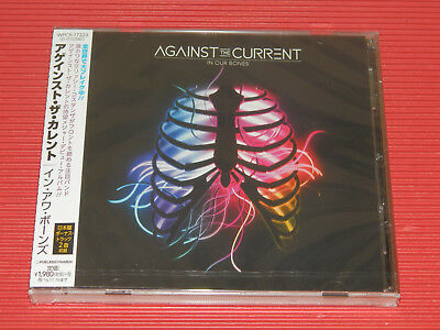 AGAINST THE CURRENT In Our Bones with Bonus Track (Total 14 tracks)  JAPAN CD