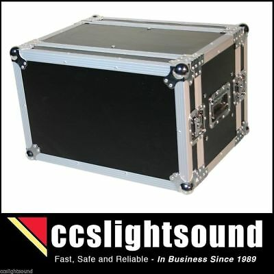 6U Floating Shockmount Rack In Case With Front And Rear Lids