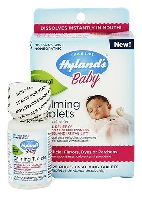 Hylands - Baby Calming Tablets - 125 Tablets