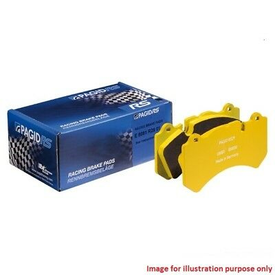 Fits Nissan GT-R for Track Use Only - Pagid RS RS29 Performance Front Brake Pads