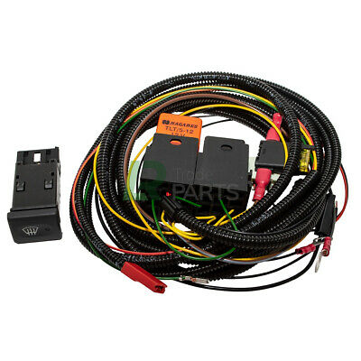 Land Rover Defender New Front Heated Windscreen Wiring Loom & Switch Fitting Kit