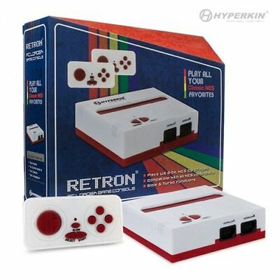 Retron 1 NES System Top Loader White Red + 2 Controllers Nintendo Console NEW