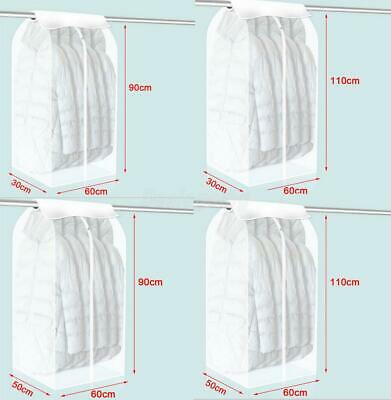 Cloth Suit Moths Mildew Storage Garment Bag Protective Cover Guards Against Dust