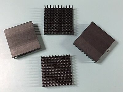 LOT OF (25) NEW WAKEFIELD 655-53AB Omnidirectional Pin Fin Heat Sink for BGAs