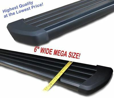 Ford F  Crew Cab  Black Running Side Step Boards