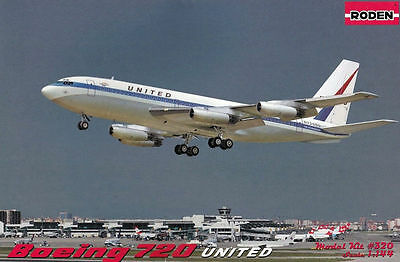 BOEING 720B PAN AMERICAN AIRLINES 1//144 RODEN 319