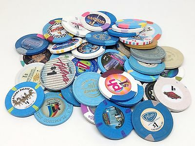 Authentic Obsolete $1 Las Vegas Nevada Collector Casino Chips FREE SHIPPING *