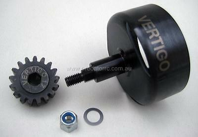 1/5 Baja Clutch Bell Steel Vented HEX Drive &17T Pinion by Vertigo fit 5B 5TSC