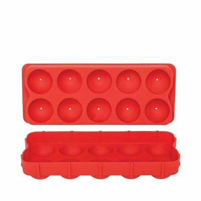 NEW D.Line Silicone Round Ice Cube Tray