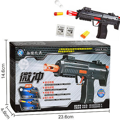 2 in 1 Kids Water Crystal Paintball Soft Bullet Nerf Toy Pistol Toy CS Game Toy