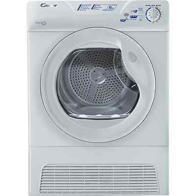 Candy GCC581NB Grand'O 8Kg Condenser Tumble Dryer White New from AO