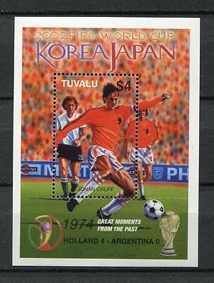 s7502) TUVALU 2002 MNH** WC Football - CM Calcio S/S