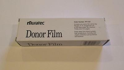 Muratec Donor Film PF110/1 New Fax Toner;For F-10, Imagemate CX,MX-Free Shipping