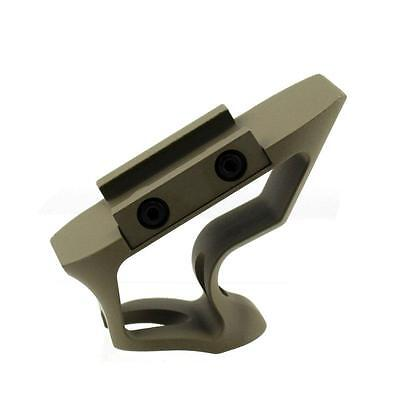 Aluminum Shift Style Vertical Foregrip Fore Grip Airsoft Rifle 20mm Rail Brown