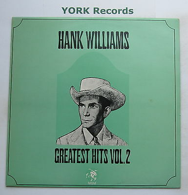HANK WILLIAMS - Greatest Hits Vol 2 - Excellent Condition LP Record MGM 2353 053