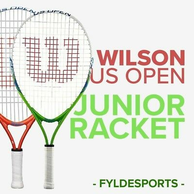 Wilson US Open Junior Tennis Racket  Red / Green - Jr 19 -Jr 21 - Jr 23