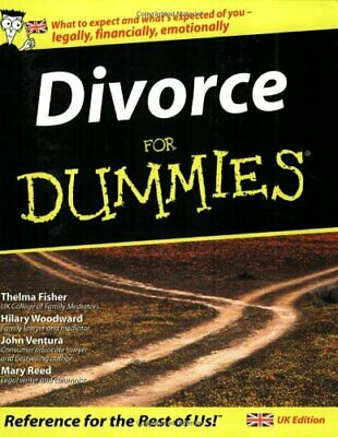 Divorce For Dummies (UK Edition) by Mary Reed Paperback Book The Cheap Fast Free