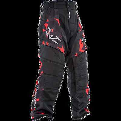 PAINTBALL BRAND NEW Valken Crusade Pants - Riot - Red - Small