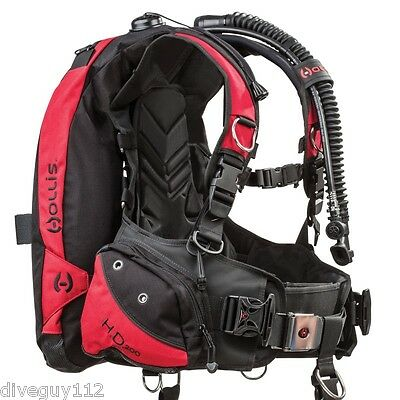 Hollis HD-200 BCD Scuba Dive Buoyancy Compensator LG