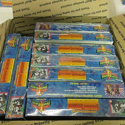 8 BOX LOT Mighty Morphin Power Rangers Hobby Edition New Season FACTORY SEALED