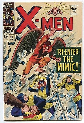 1966 X-Men #27 ~Re-Enter the Mimic!~ (Grade 6.0)