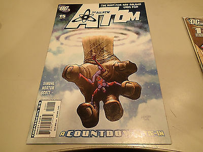 The All New ATOM  #15  DC Comics 2007 VF A Countdown Tie-In