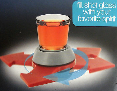 Spin-the-Shot drinking party game US SELLER FREE FAST SHIP NEW FUN spinner gift