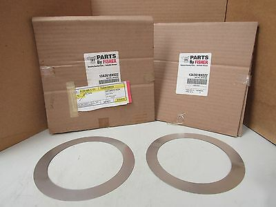 New Lot Of 2 Fisher Controls Shim Seal 13A2618X022