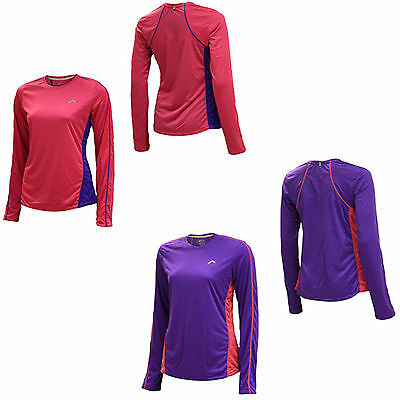 More Mile Womens Ladies Long Sleeve Running / Gym Top T-Shirt XS,S