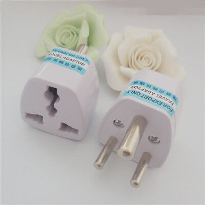 Universal US EU AU UK to Sri Lanka India Pakistan Power Plug Travel Adaptor