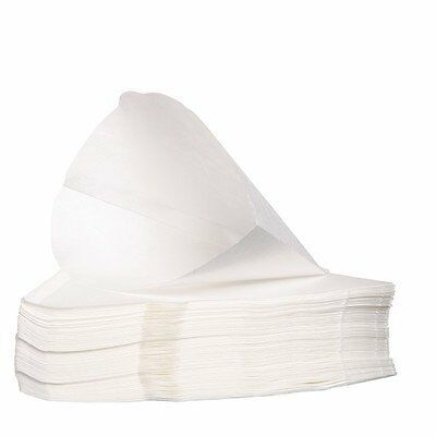 Filtropa Size 4 coffee filter papers for cone shaped brewers pack of 100-White