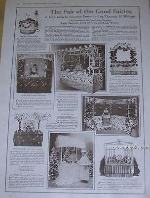 The Fair of the Good Fairies 1916 Ladies Home Journal Page New Idea in Bazaars