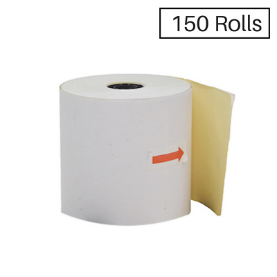 150 76x76mm Impact 2ply Receipt Rolls ($1.12 per roll)